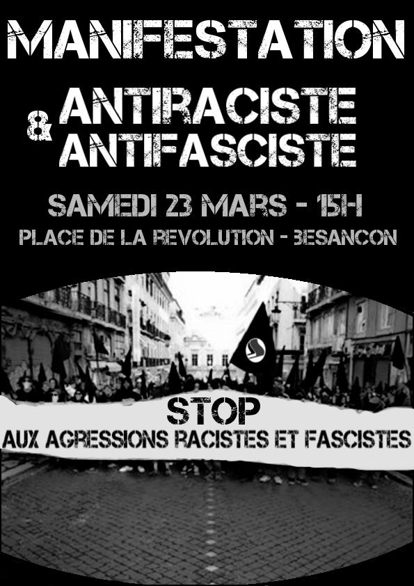 Plus d'infos sur le site du Collectif Antifasciste de Besançon