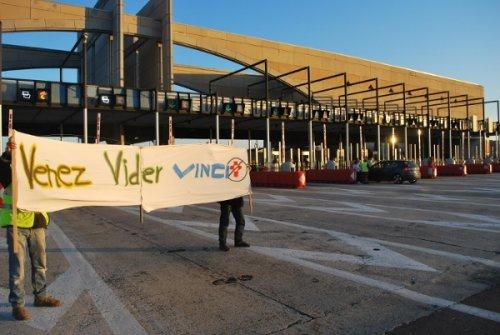 Lançon de Provence : péage gratuit (02/12/2012)