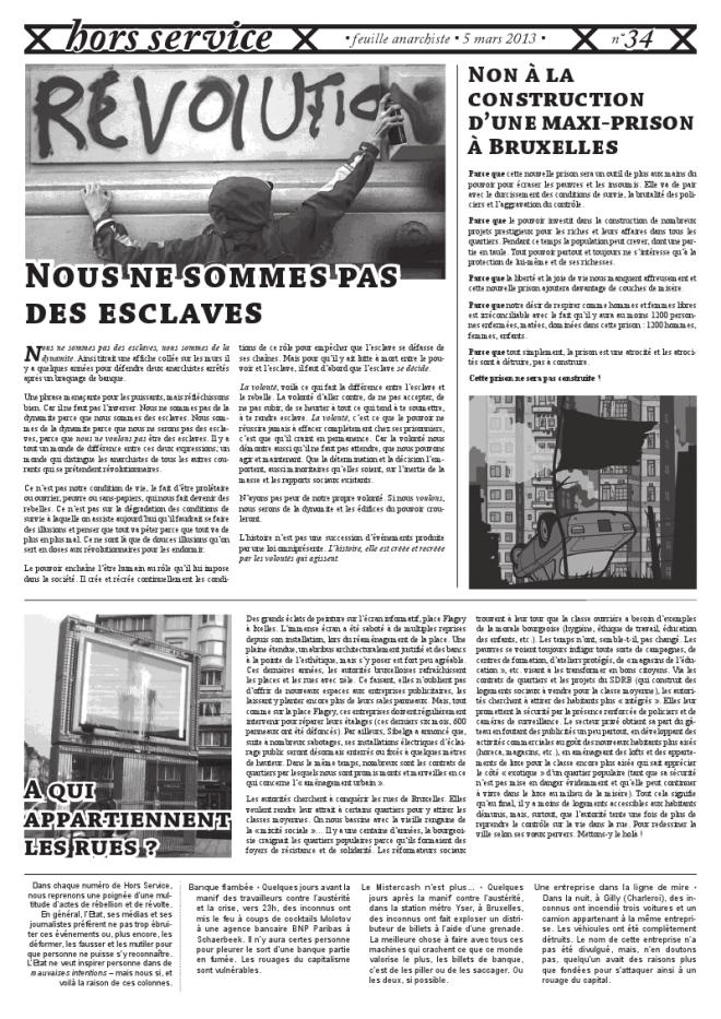 """Cliquer sur l'image pour télécharger en format PDF le journal """"Hors Service"""" #34"""