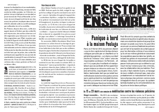 Cliquer sur l'image pour télécharger le numéro du mois de mars 2013 au format PDF