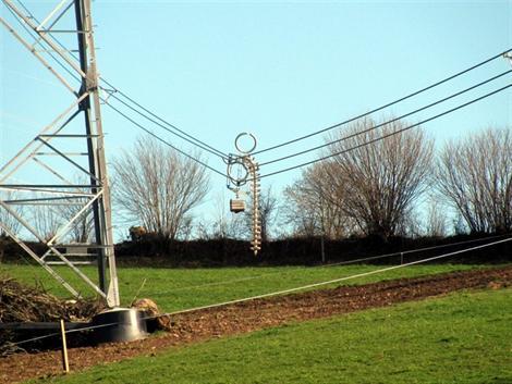 Selon RTE, qui a porté plainte, la ligne THT Cotentin-Maine a bien été sabotée.