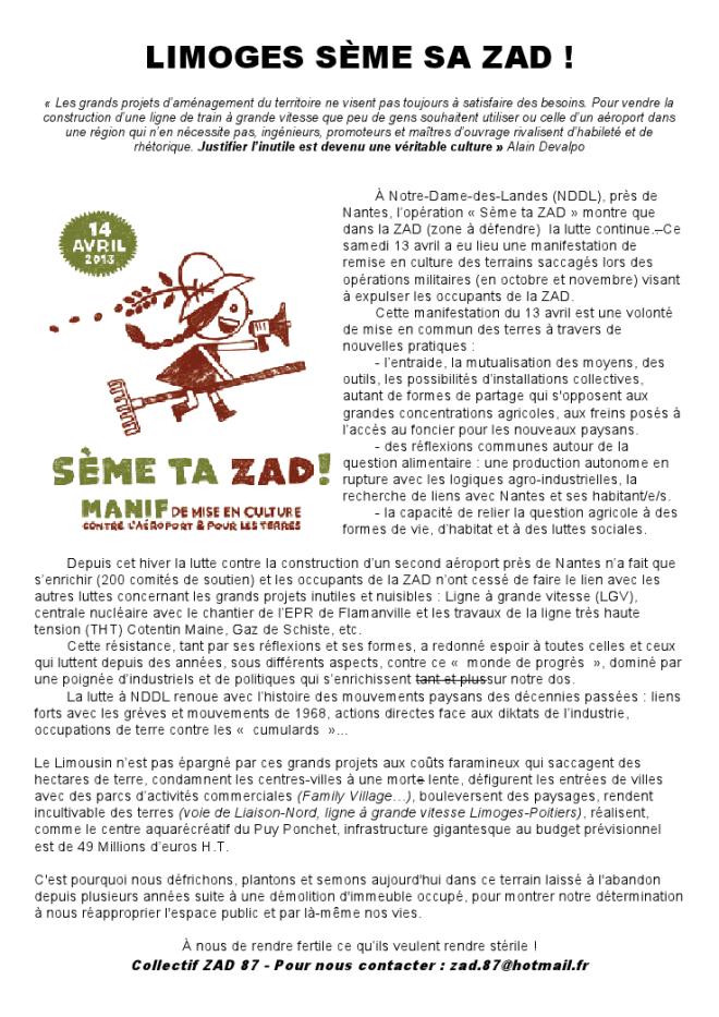 Cliquer sur l'image pour voir/télécharger le tract du collectif 87 au format PDF